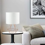 Mercer41 Arnfast 15 7 Rose Gold Table Lamp With Outlet Wayfair