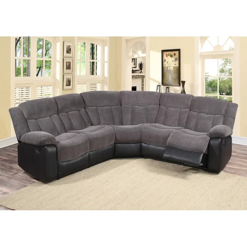 koster reclining sectional