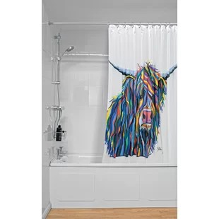 grey silver shower curtains you ll