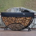 Shelterit 8 Round Firewood Log Rack Reviews Wayfair