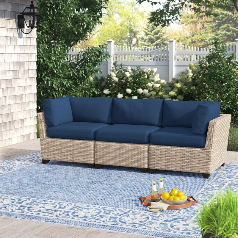 rochford 89 5 wide outdoor patio sofa with cushions