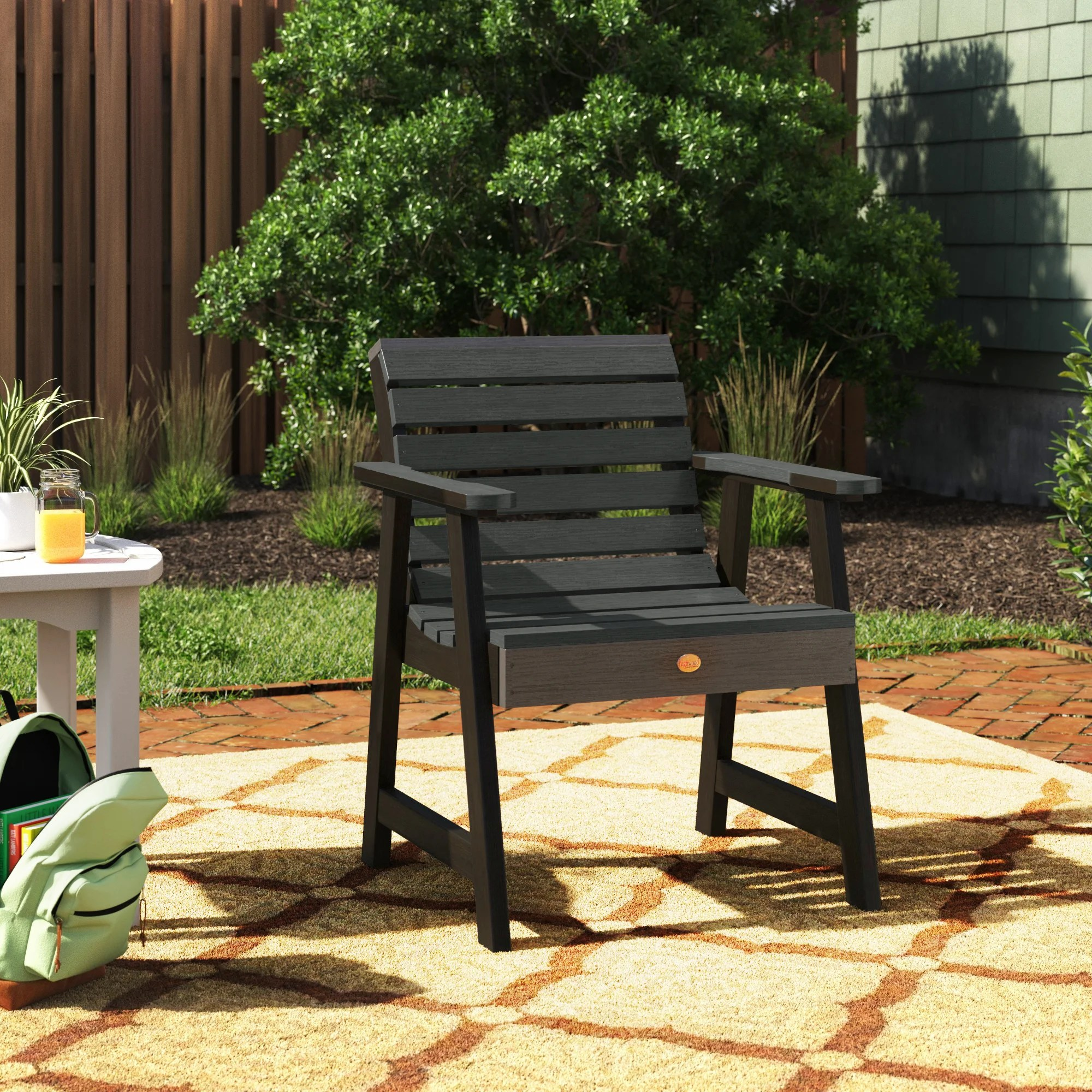 cushionless outdoor club chairs you ll
