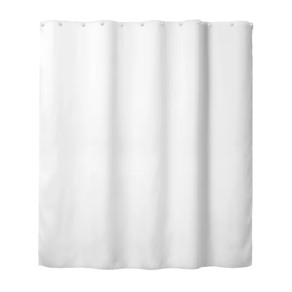 snap peva single hookless shower curtain liner