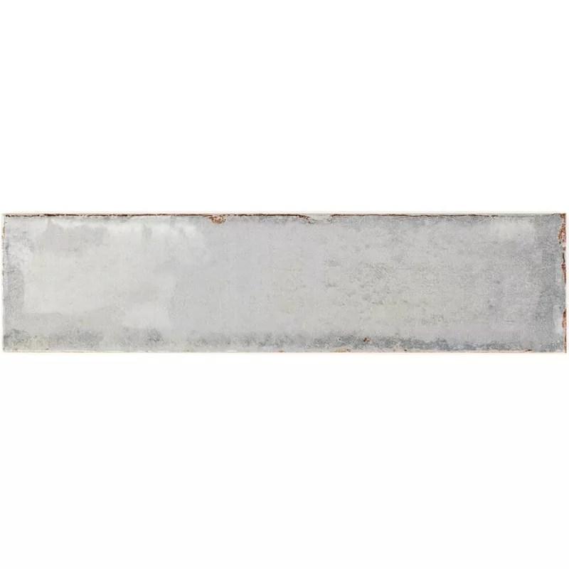 moze 3 x 12 straight edge ceramic singular subway tile