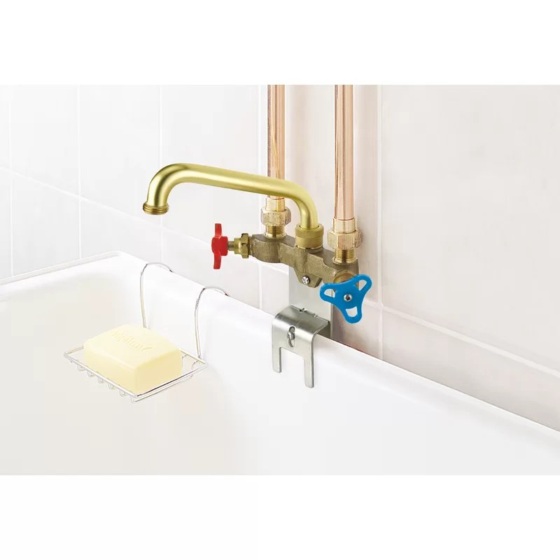 canadian wall mount laundry faucet