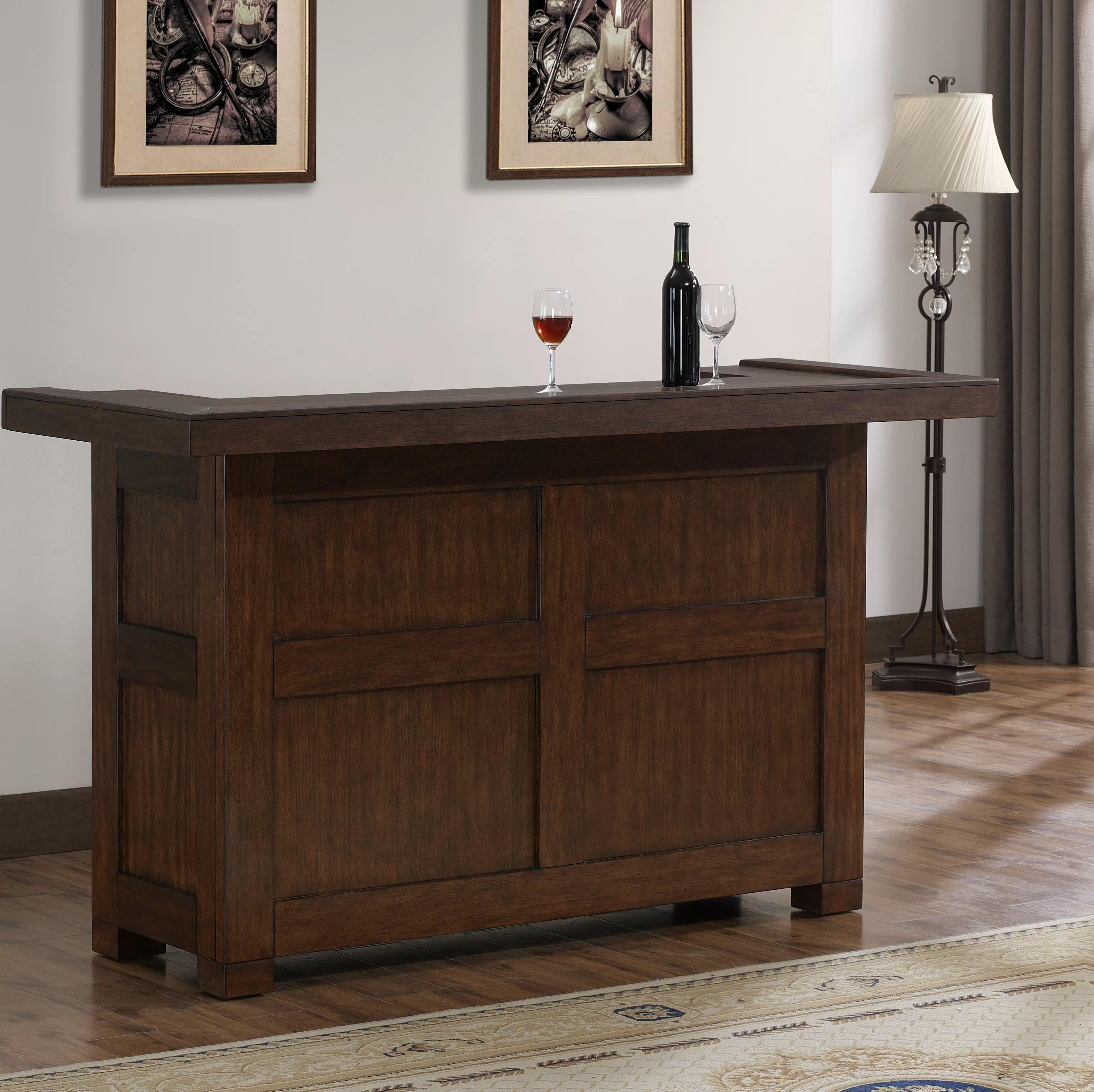 greggory bar with wine storage