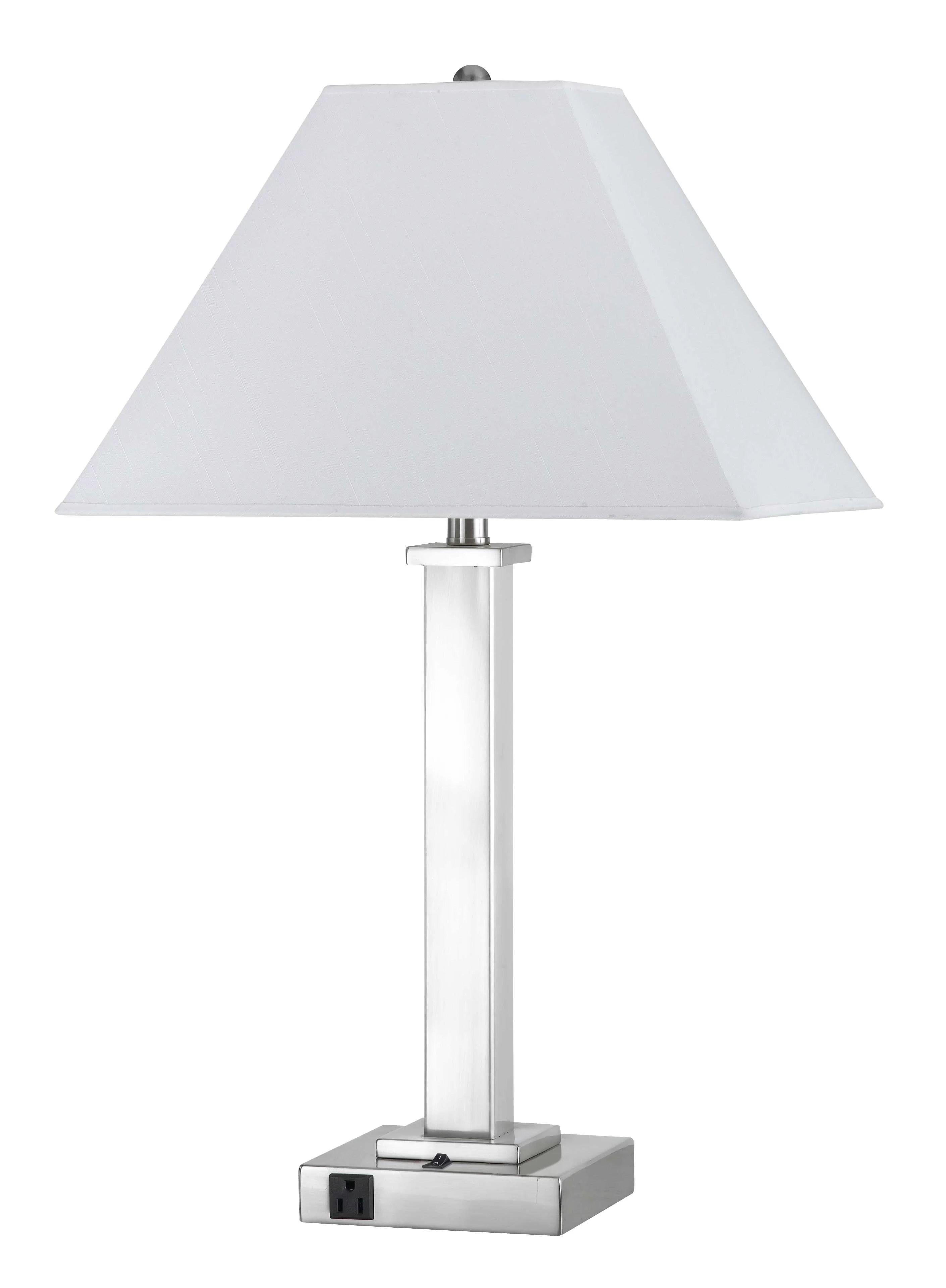 Latitude Run Wellesley 28 Clear Glass Table Lamp Reviews Wayfair