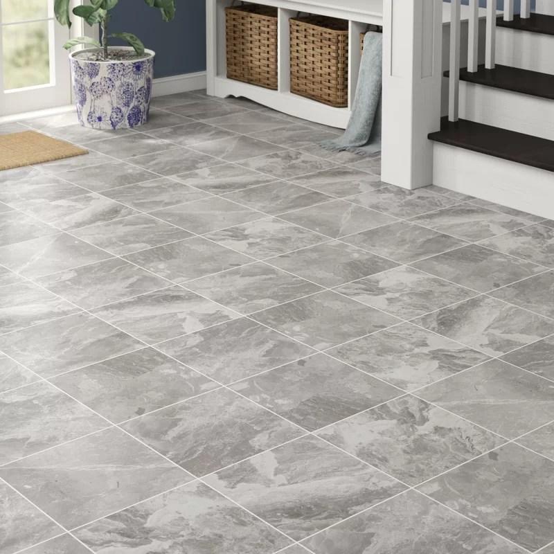 classic 12 12 porcelain field tile in bardiglietto