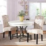 Ophelia Co Wachapreague Script Upholstered Dining Chair Reviews Wayfair