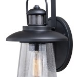 Breakwater Bay Stonehaven Outdoor Wall Lantern With Motion Sensor Reviews