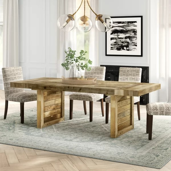 hinkley extendable solid wood dining table reviews on solid wood dining table id=86575