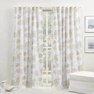 farmhouse rustic curtains drapes