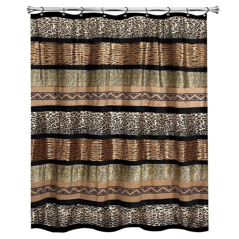 newburn animal print single shower curtain