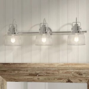Industrial Vanity Lights   Birch Lane Save