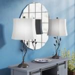 Rosalind Wheeler Justine 28 Painted Bronze Table Lamp Set Reviews