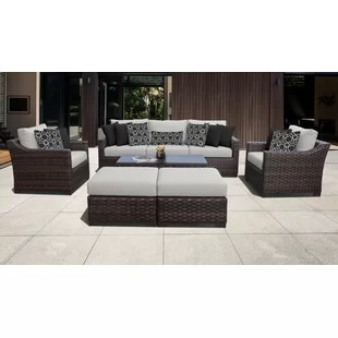 wayfair outdoor patio furniture sets