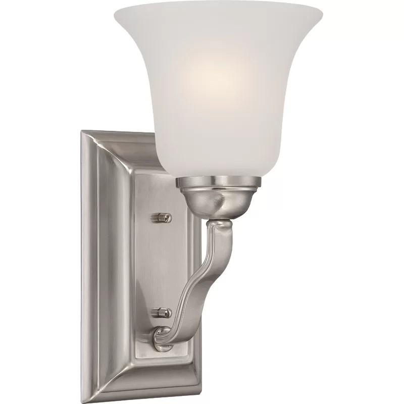 Charlton Home® Hardin 1-Light Bath Sconce   Wayfair on Wayfair Bathroom Sconces id=42588