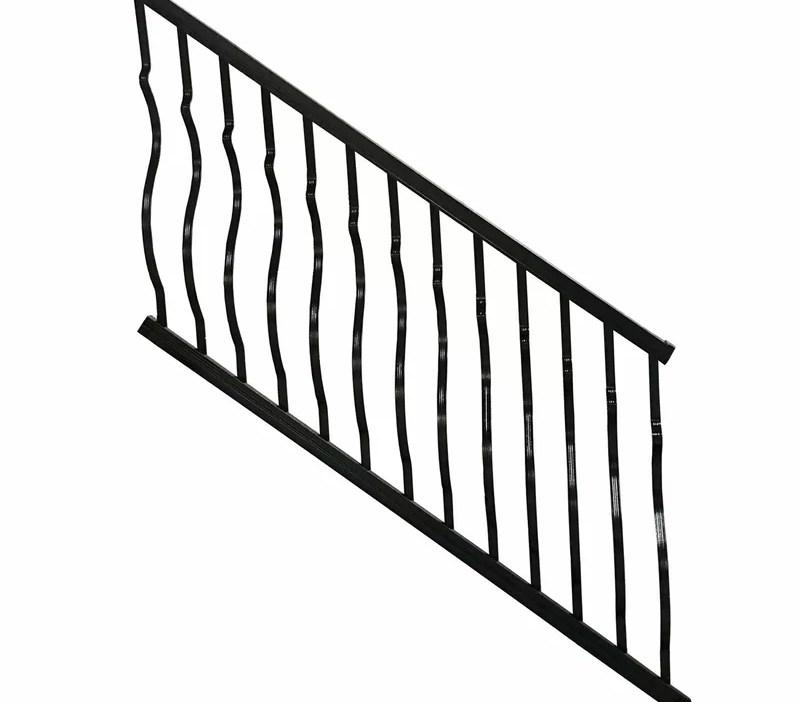 Modvue Baluster Stair Railing Wayfair | Stair Rails For Sale | Interior | Steel | Iron Rail | Minimalist | Modern