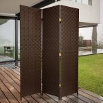 Bloomsbury Market Samuelson Outdoor All Weather 3 Panel Room Divider Reviews