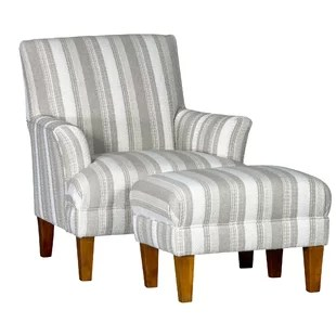 Marcell Club Chair and Ottoman