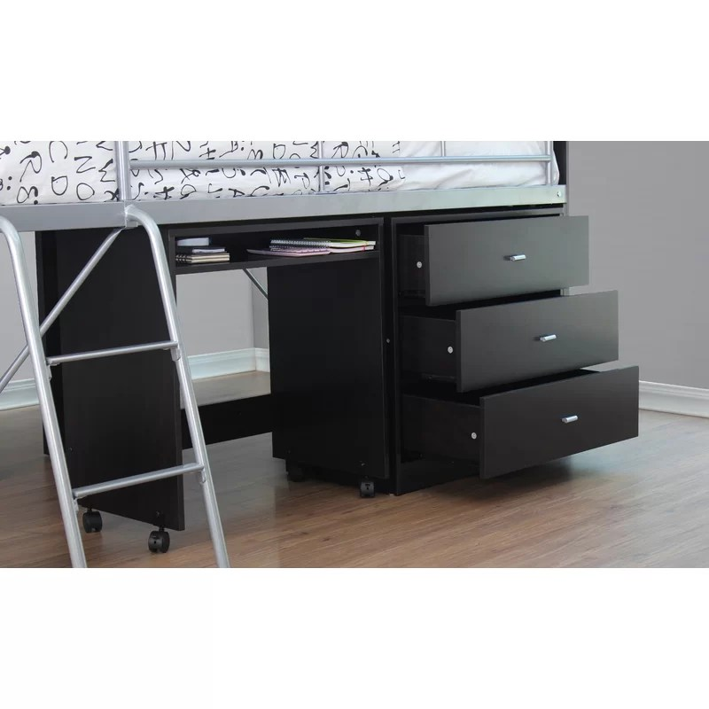 Loft Bed Twin With Desk And Drawers