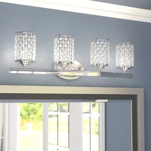 Bathroom Vanity Lighting & Light Fixtures You'll Love in ... on Wayfair Bathroom Sconces id=72206