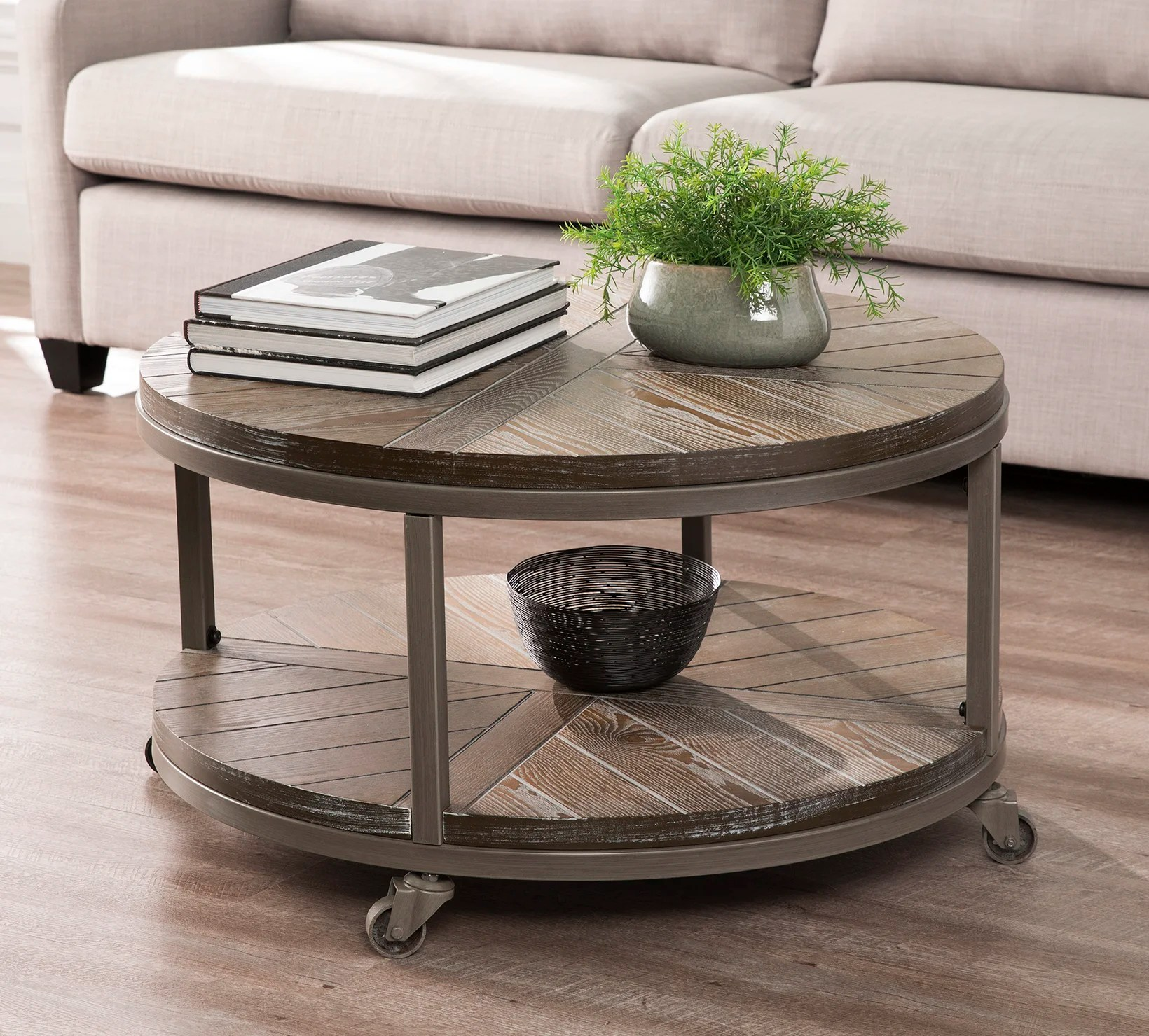rustic coffee tables free shipping over 35 wayfair