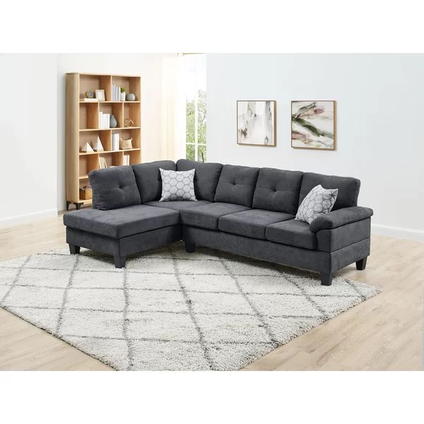 small apartment size sectional