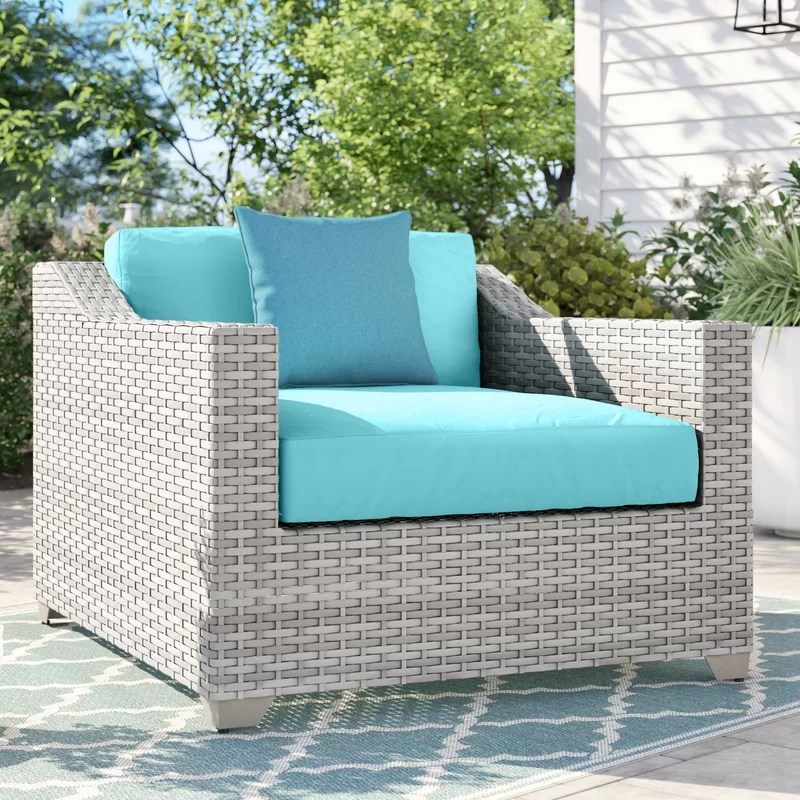 falmouth patio chair with cushions