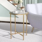 Round Small End Side Tables You Ll Love In 2020 Wayfair