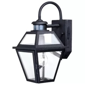Motion Sensor Ceiling Light   Wayfair Douglas Forge Outdoor Wall Lantern with Motion Sensor