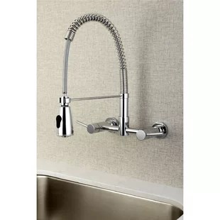 concord centerset wall mount double handle kitchen faucet