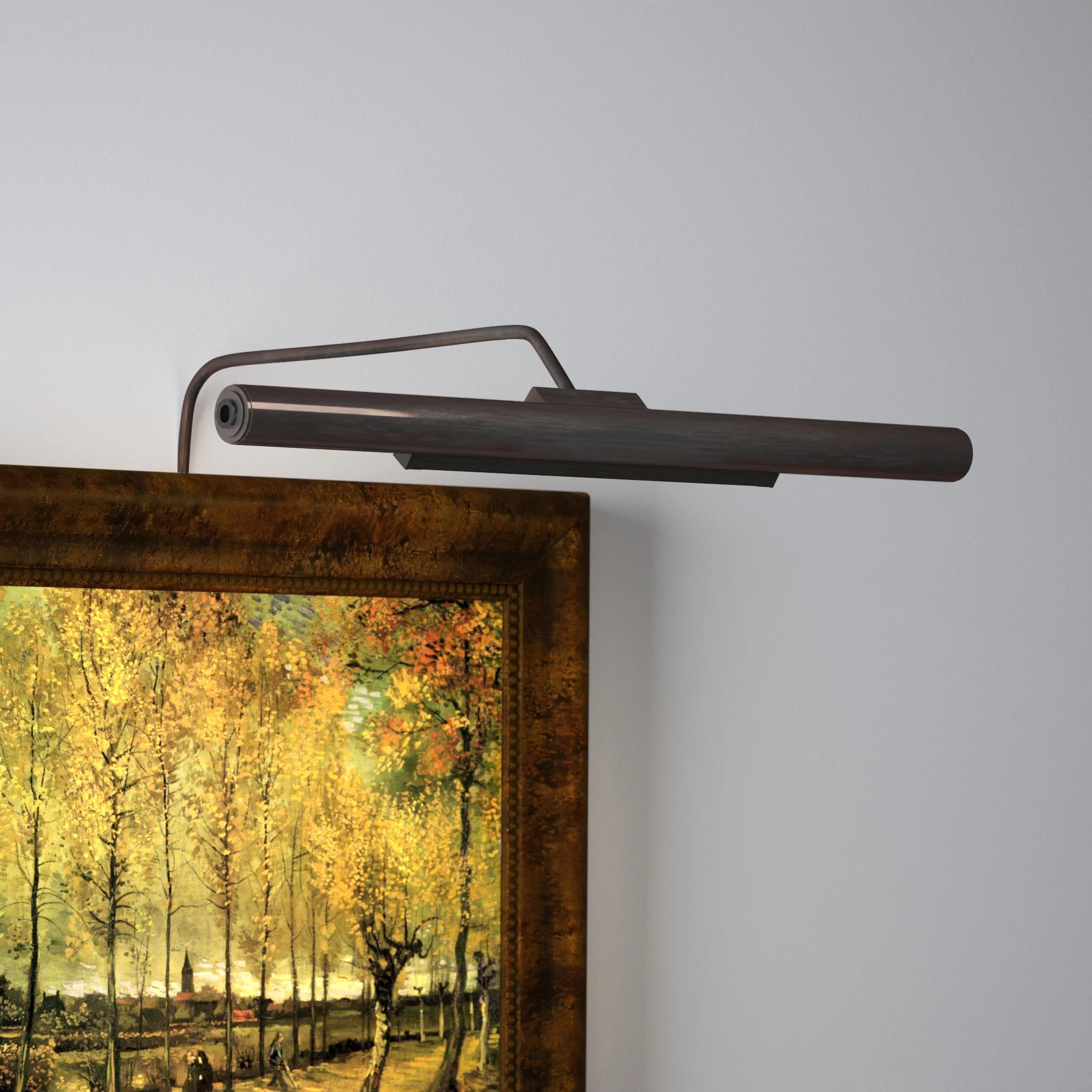battery operated wall mounted picture light