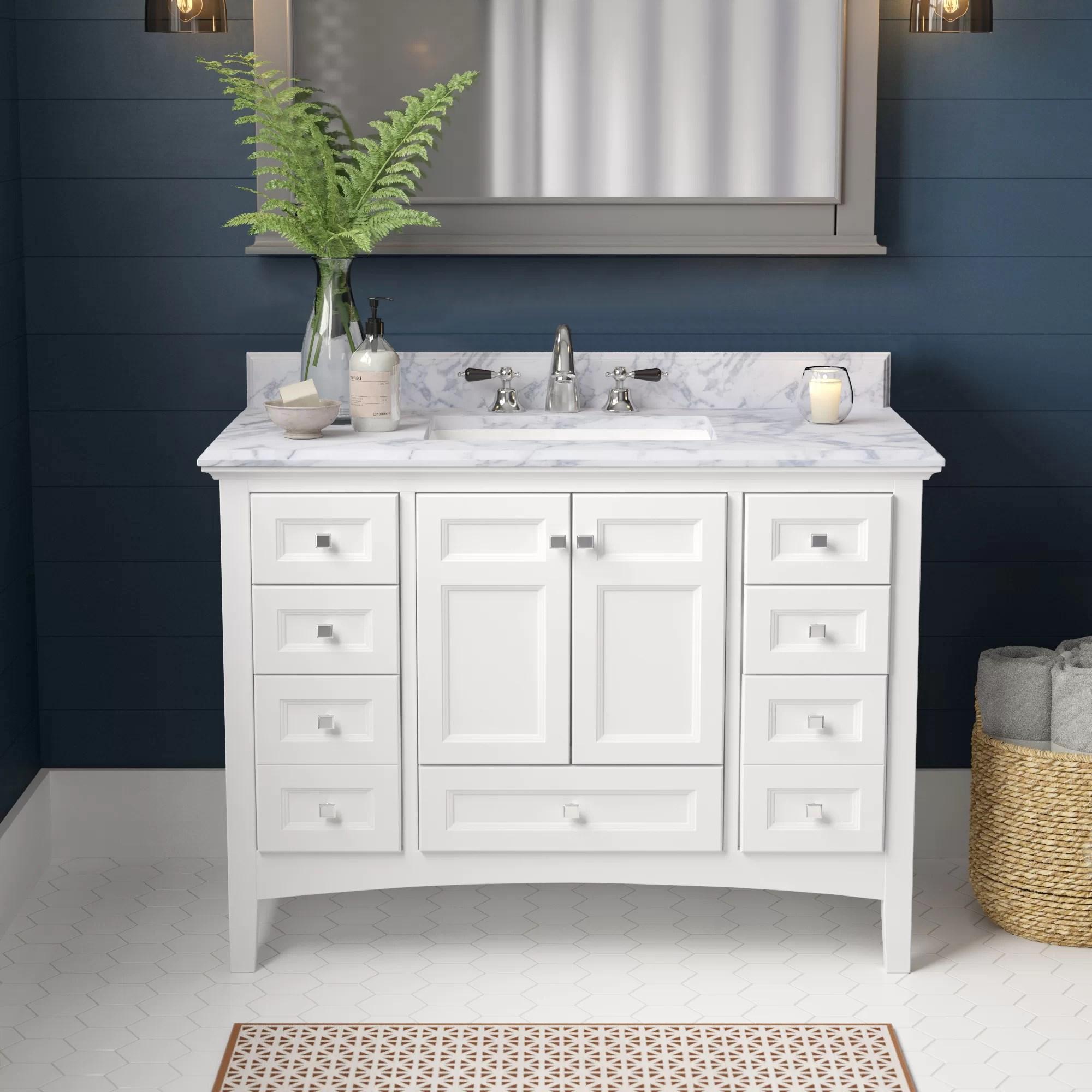 horacia 42 single bathroom vanity set