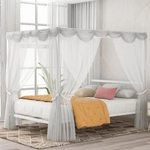 four poster beds free shipping over