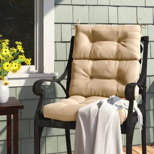 sarver high back indoor outdoor seat back cushion