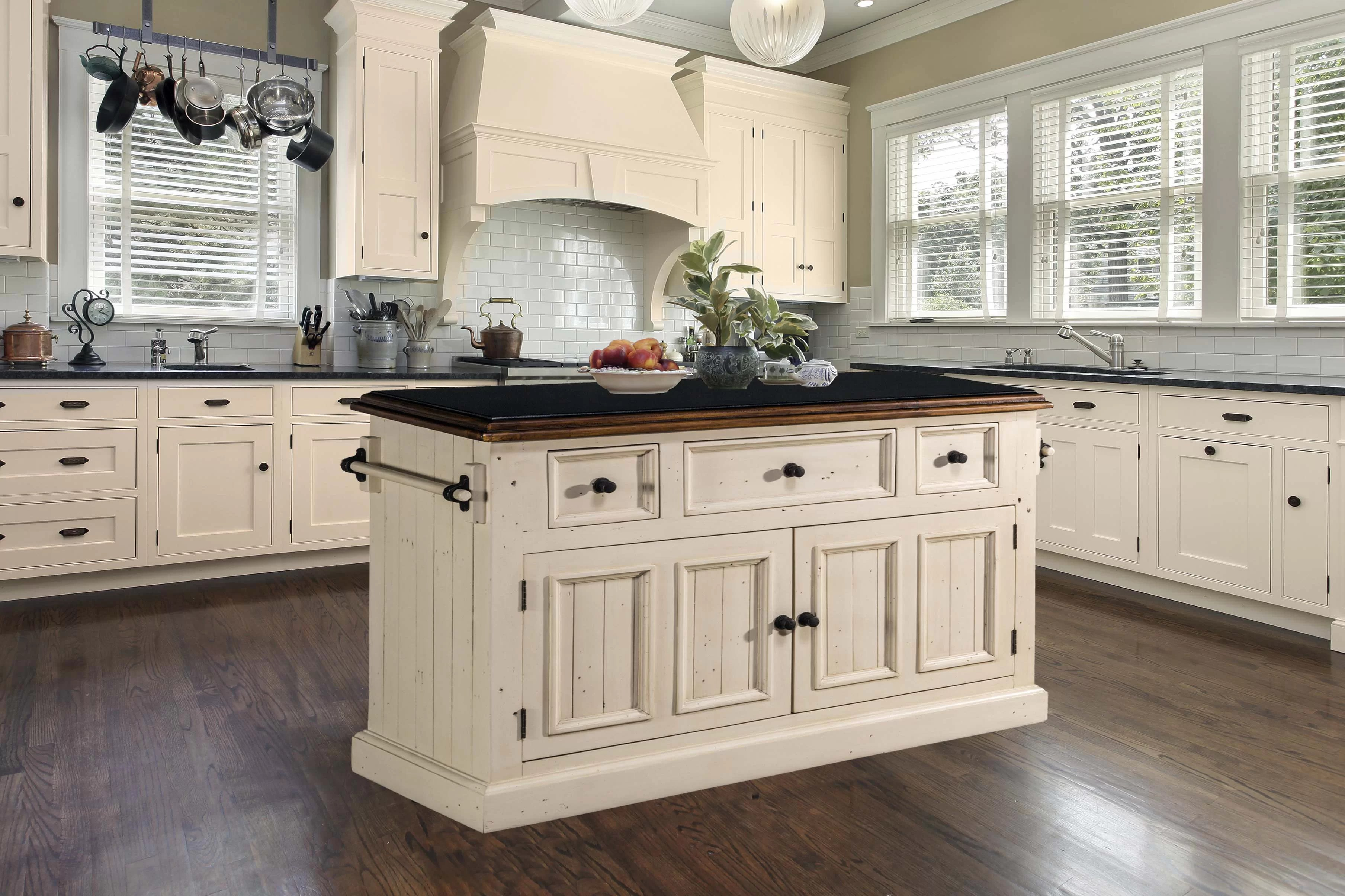 Three Posts Eloy Kitchen Island With Granite Top Reviews