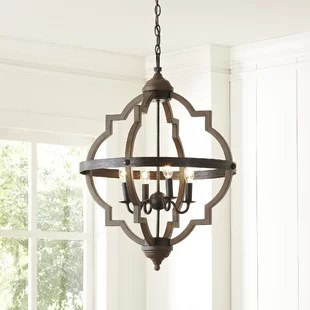 Bennington Candle Style Chandelier