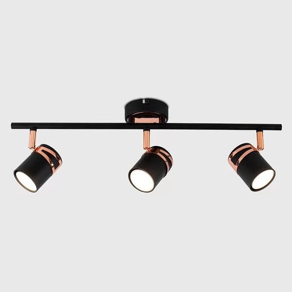 copper track lights