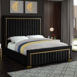 Everly Quinn Elberta Upholstered Sleigh Bed Reviews Wayfair