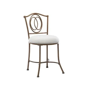 amelia skye metal accent stool