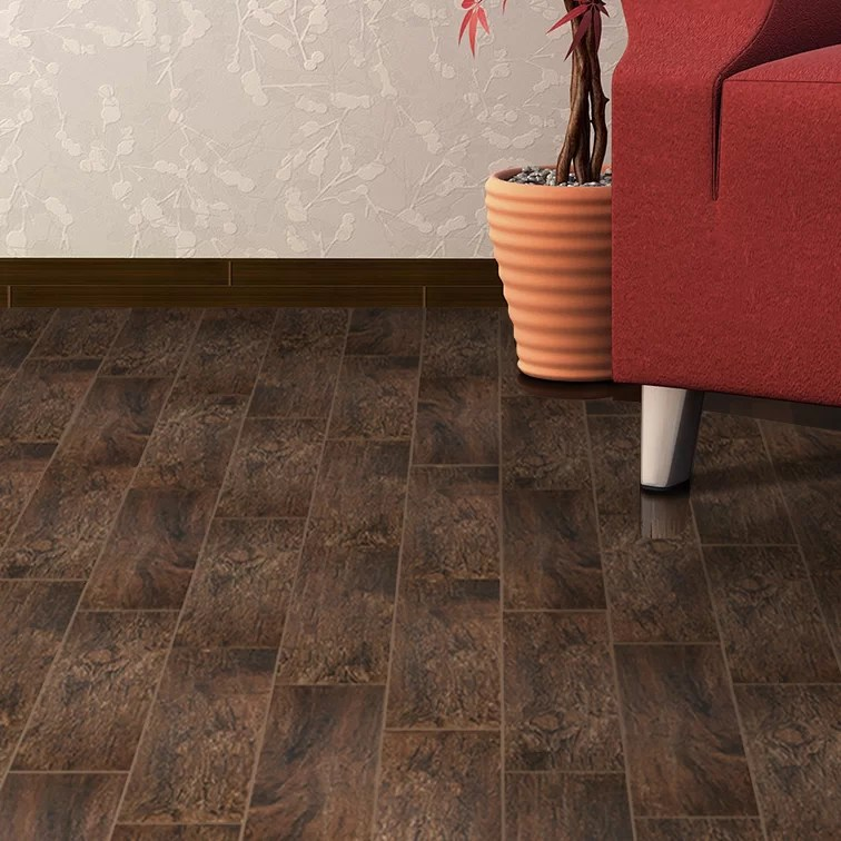 redwood 8 x 48 porcelain wood look tile