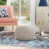 Anemone Rope Pouf