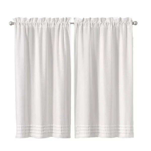 rufina window pleated 26 cafe curtain