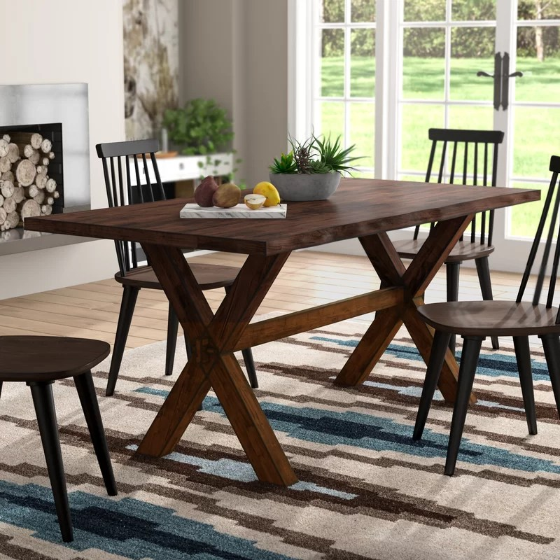 millwood pines tiggs solid wood dining table reviews on solid wood dining table id=36703