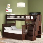 Harriet Bee Abel Staircase Twin Over Full Bunk Bed With Trundle Reviews