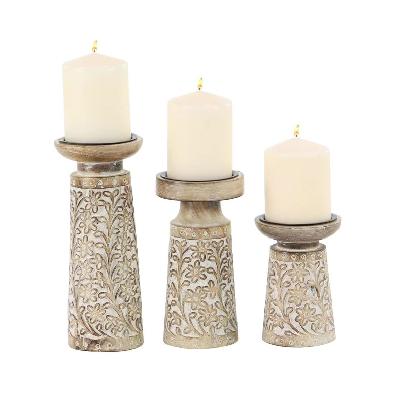 Wrought Iron Candle Holders Centerpieces