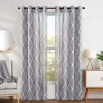 Jinchan Burlap Geometric Room Darkening Outdoor Curtain Panels Wayfair