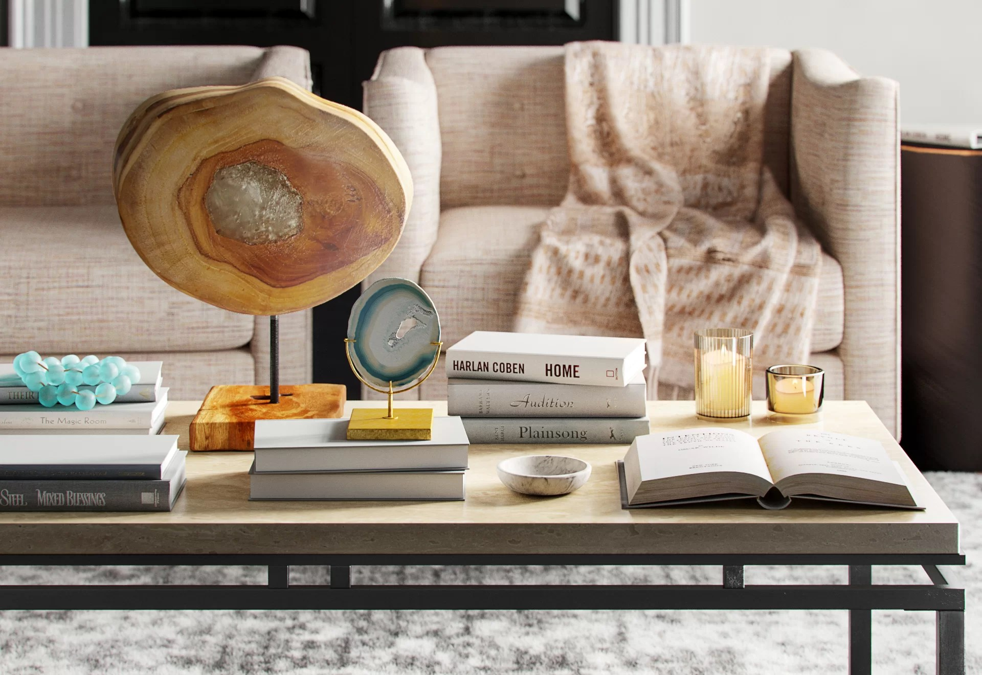 7 secrets to styling a coffee table