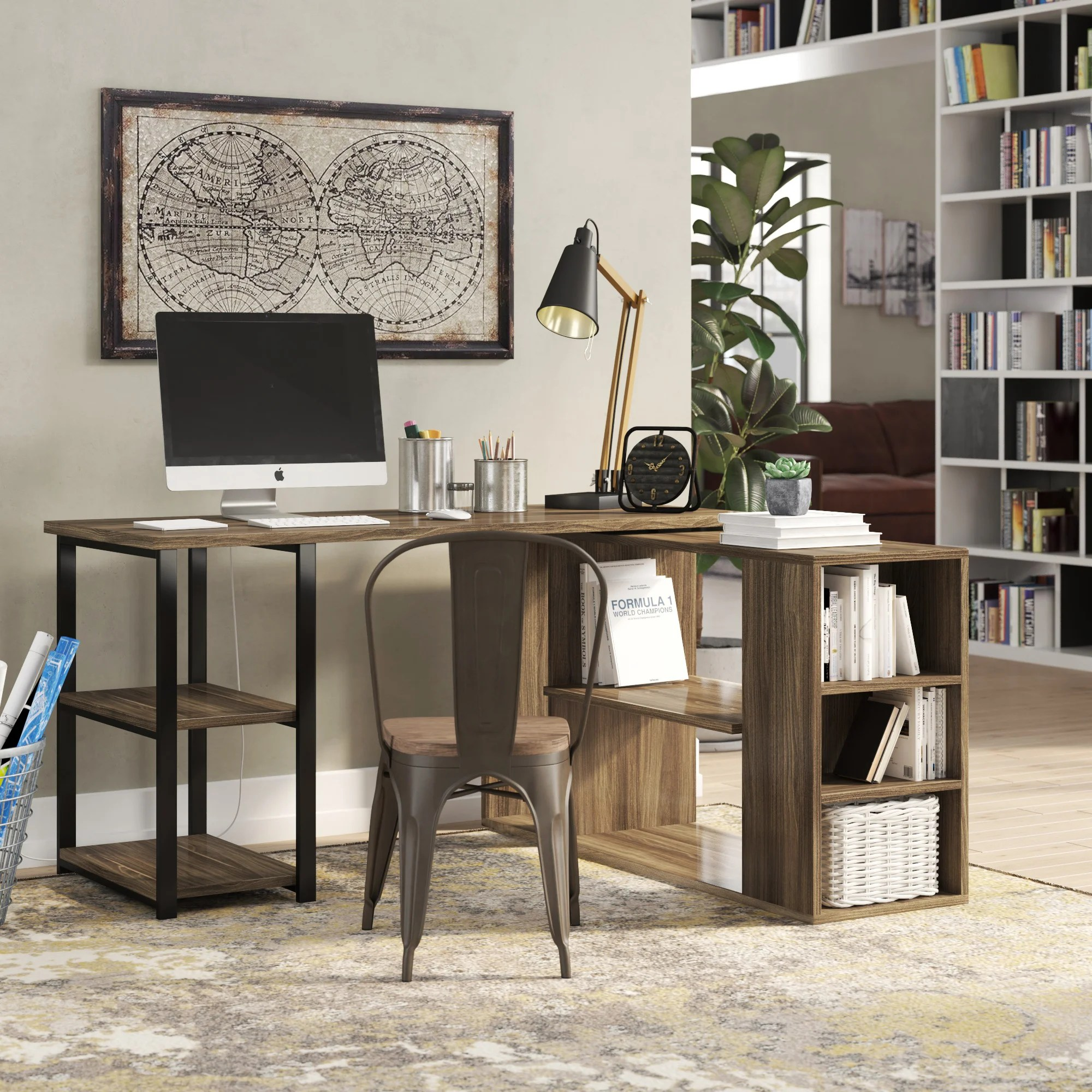 alphones reversible l shape desk